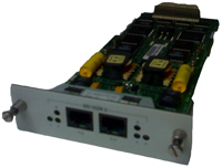 3Com 3C421800 SuperStack RAS 1500 2 Port ISDN U Module