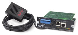AP9618 UPS Network Management Card w/ Environmental Monitoring & Out of Band Management