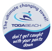 TogaBeach Changing Towel